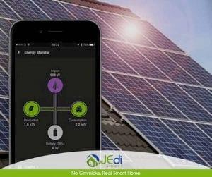 Control App paneles solares
