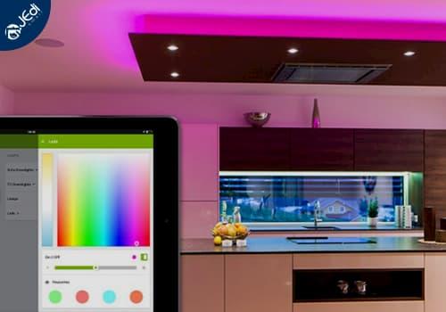 Iluminación Inteligente Control App
