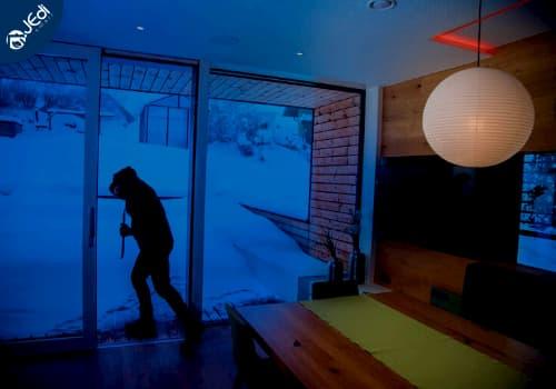 Seguridad con iluminacion